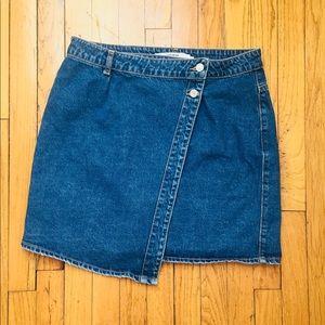 ASOS Vero Moda Wrap Jean Skirt